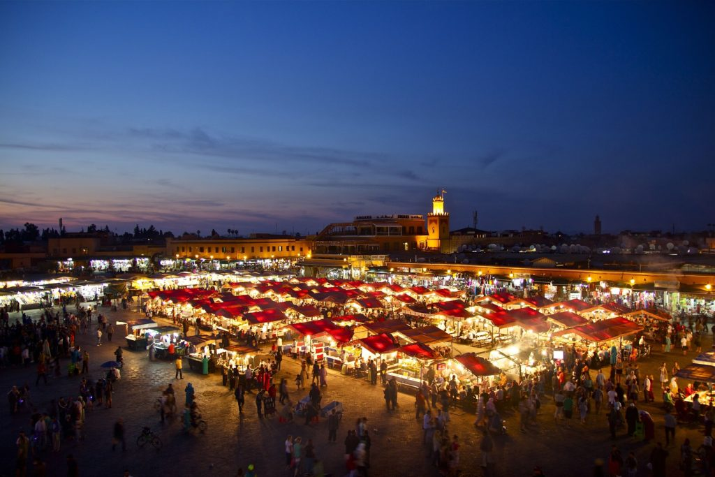 Voyage Paysage Marrakech
