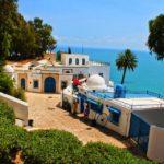 Vue sur la mer Tunisie